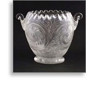 Stevens & Williams Intaglio Bowl.